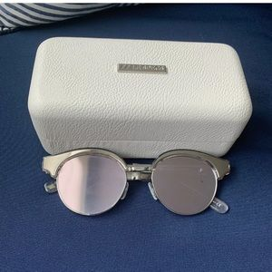 Le Specs Luxe Cleopatra 1702122 Silver Mirrored